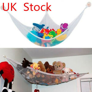 Details About Toy Hammock Mesh Child Baby Kids Bedroom Storage Nursery Net Wall Mounted