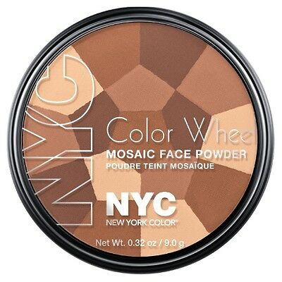NYC Color Wheel Mosaic Face Powder - All Over Bronze Glow