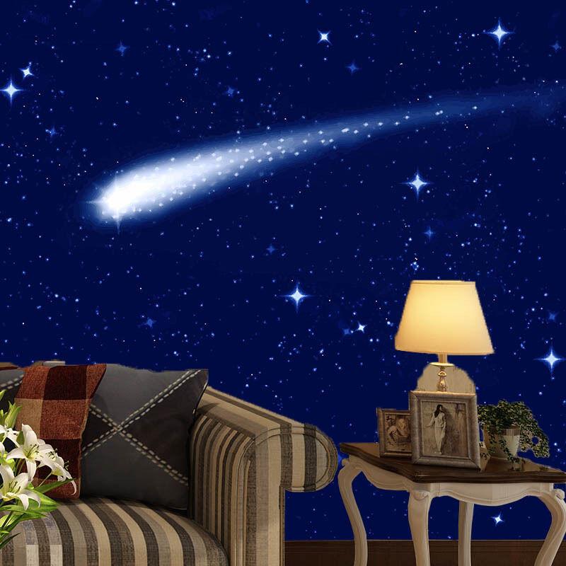 3D Stars Sky Meteor 016 Wall Paper Wall Print Decal Wall Deco Wall Indoor Murals