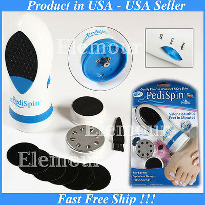 Electric Callus Remover Foot Horniness Care File Dry Hard Skin Pedicure Pedispin
