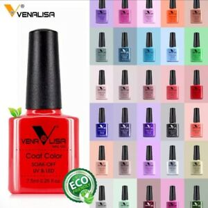 Nail-Coat-Gel-CANNI-Venalisa-Polish-UV-Colors-Soak-Off-Art-Design-Top-Varnish