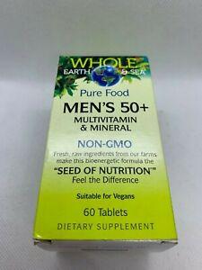 best men\'s over 50 multivitamin 2020 Whole Earth and Sea Men's 50+ Multi Vitamins and Minerals Non GMO