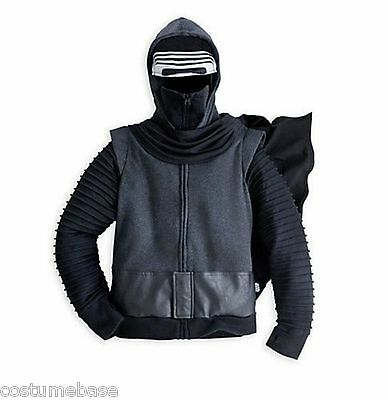 Star Wars KYLO REN KIDS JACKET The FORCE Awakens with Hood costume child Coat
