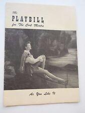 1950 - Cort Theatre - Playbill - As You Like It - April 14 - Katherine Hepburn