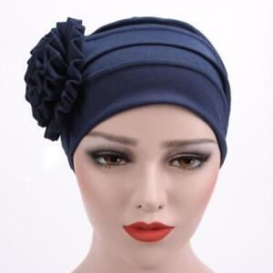 Women s Head Scarf Head Chemotherapy Cap Beanie Turban Hat Cancer ... 0462bc7e782