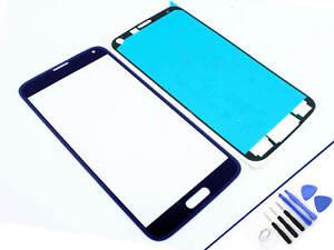 Cristal-Delantero-para-Samsung-Galaxy-S5-Azul-Pantalla-Tactil-Nuevo-y-Emb-Orig