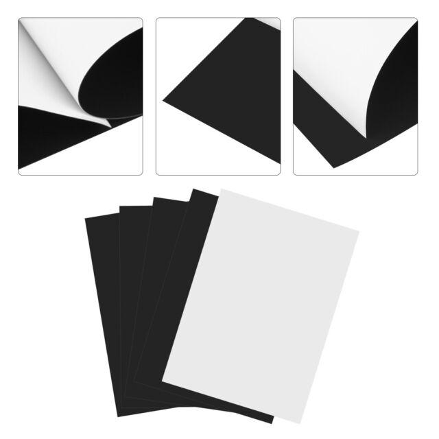 5Pcs A4 Flexible Magnetic Inkjet Printing Sheet Printable Photo Paper Magnet