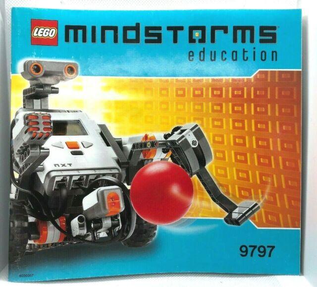 LEGO Mindstorms NXT Education 9797 Base Set Incomplete
