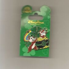 St. Patrick's Day 2015 - Chip & Dale Pin