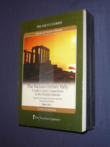 Teaching-Co-Great-Courses-DVDs-ITALIANS-BEFORE-ITALY-new-amp-sealed