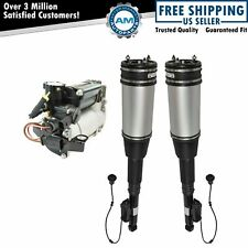 3 Piece Air Suspension Kit Rear Shock Assemblies With Compressor For Mercedes Benz