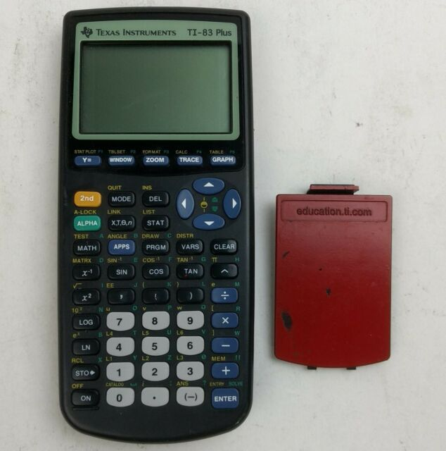 Texas Instruments TI-83 Plus Graphing Calculator NOT WORKING