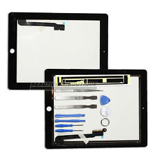 Replacement For iPad3 iPad 4 3g Wifi Front Glass Digitizer Touch Screen Black UK