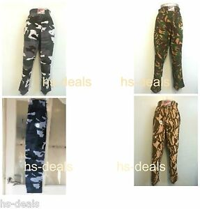 Mens-Baggy-Camouflage-Yoga-Pants-Elasticated-Gym-Camo-Cotton-Trousers-Combat