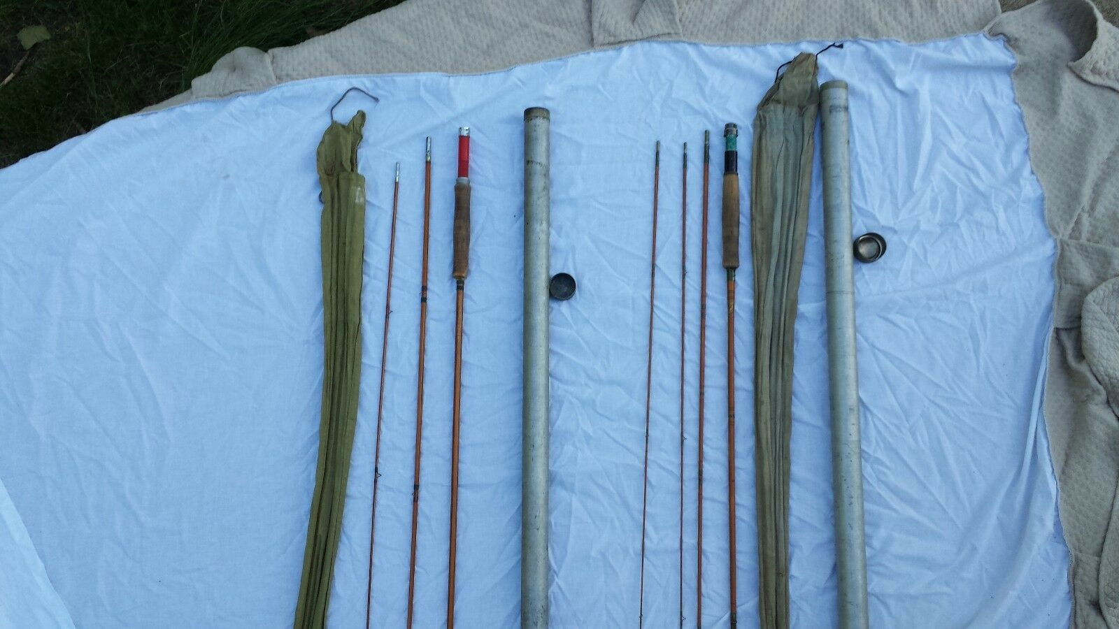 Two Antique Fishing Rods! Great Price