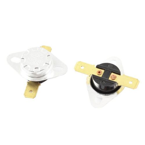 KSD301 N//C 130 C 15A Normally Closed Temperature Switch Bimetal Disc Klixon