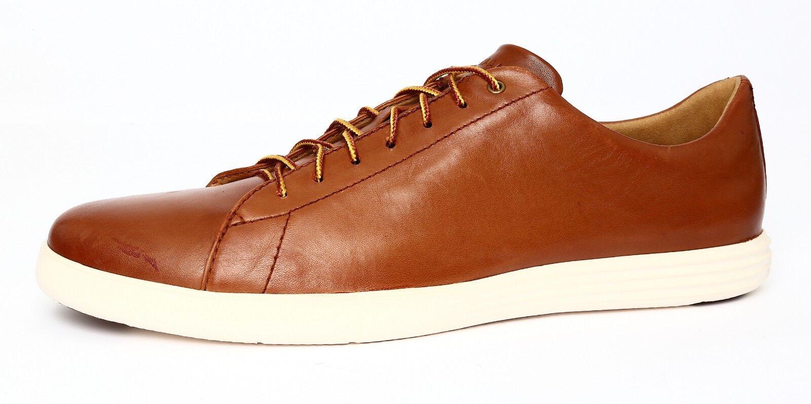 Cole Haan Grand Crosscourt II Men's Tan Leather Sneaker Sz 13 4885