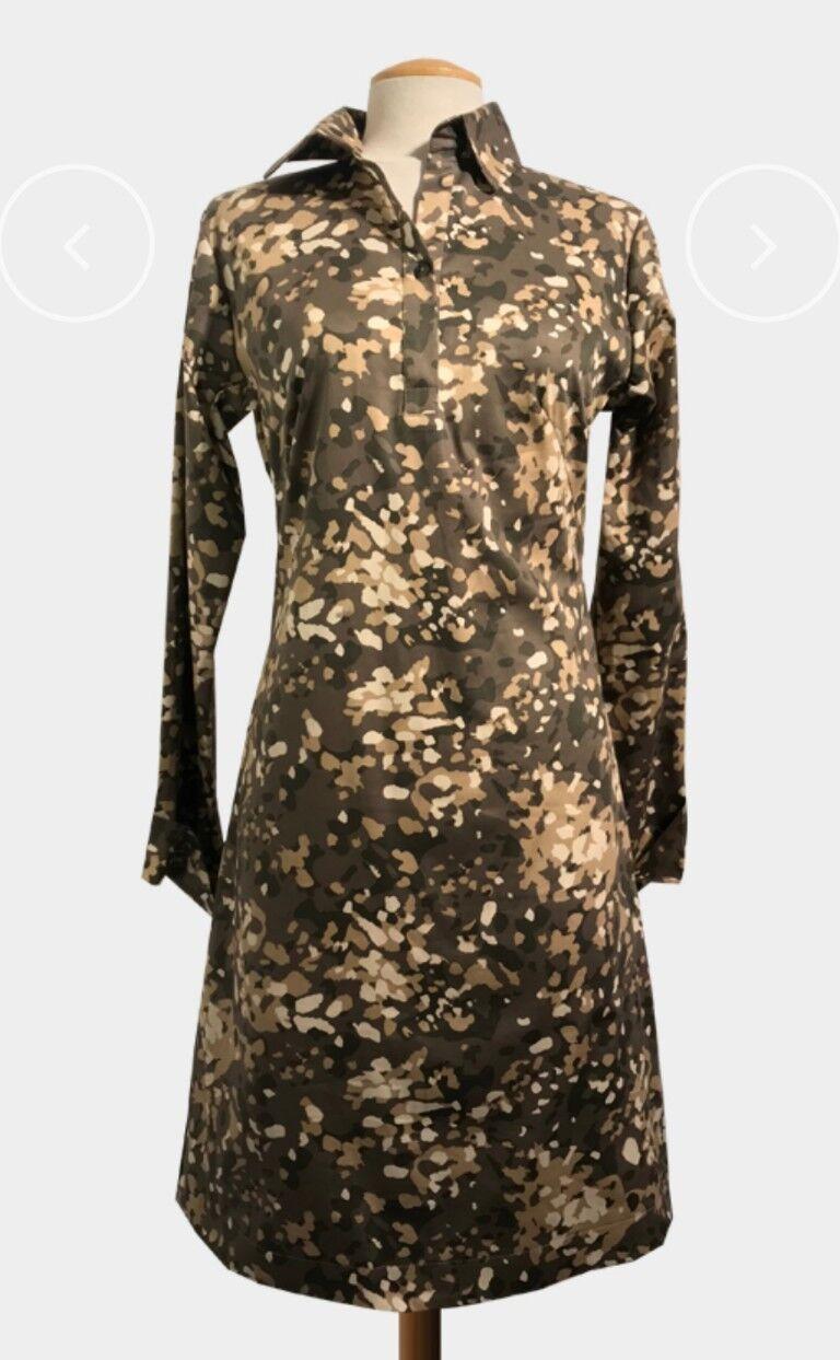 Blausenkleid,Camouflage von STEINGRAND, GRÖSSE L, neu mit Etikett.50%rotuziert.