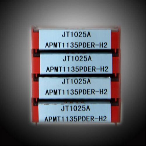 10pcs JXTC APMT1135PDER-H2 JT1025A Carbide Inserts CNC Tools