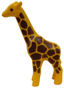 Girafe-Playmobil-123-Animal-Zoo-Girafe-Savane-Animaux-L-039-Arche-de-Noe-Neuf