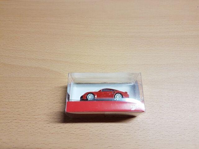 Herpa 028615-002 - 1/87 Porsche 911 Turbo - Indischrot - Neu