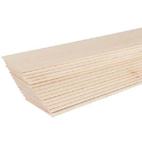 BWS3162 Bass Wood 1//16 x 2 x 24 10