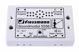 Viessmann-5556-Module-de-Sons-Passage-a-Niveau-Neuf