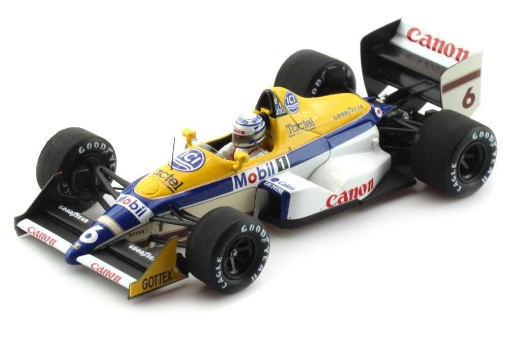 Williams fw12  6 Monaco GP 1988 Riccardo Patrese s4028 Spark 1 43 new in a Box