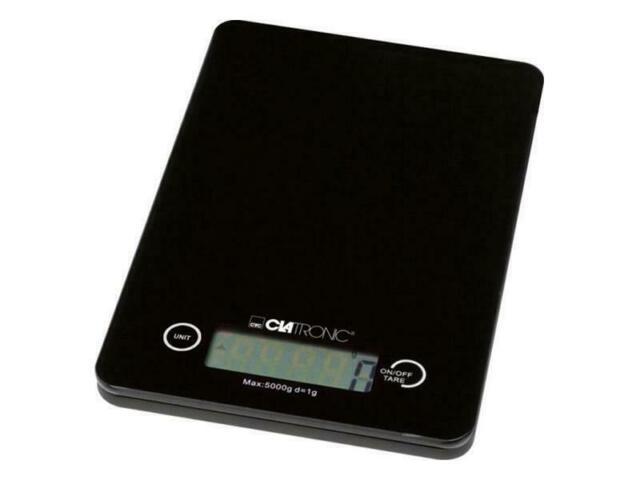 Clatronic digitale Küchenwaage KW 3366 Digitalwaage 5kg x 1g genaue Waage