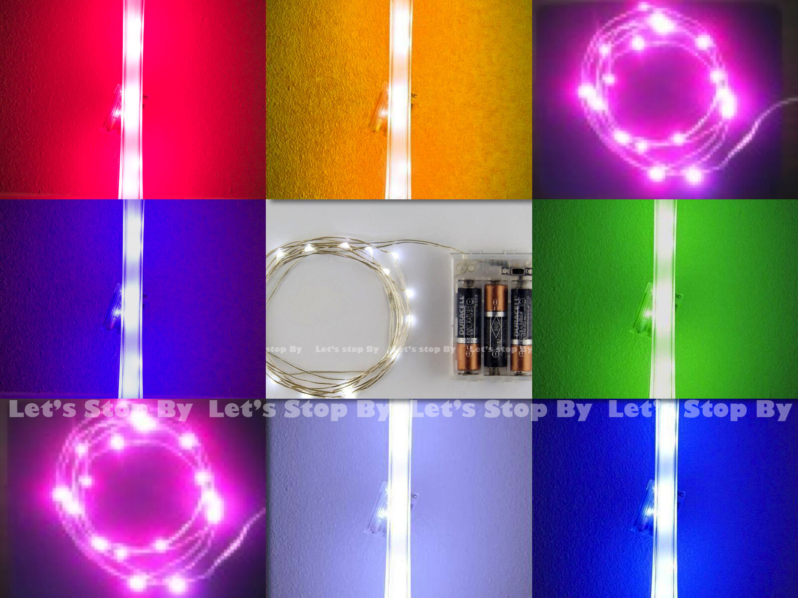 15x LED Wire Wedding Submersible Eiffel Tower Vase Centerpiece Decorate Light