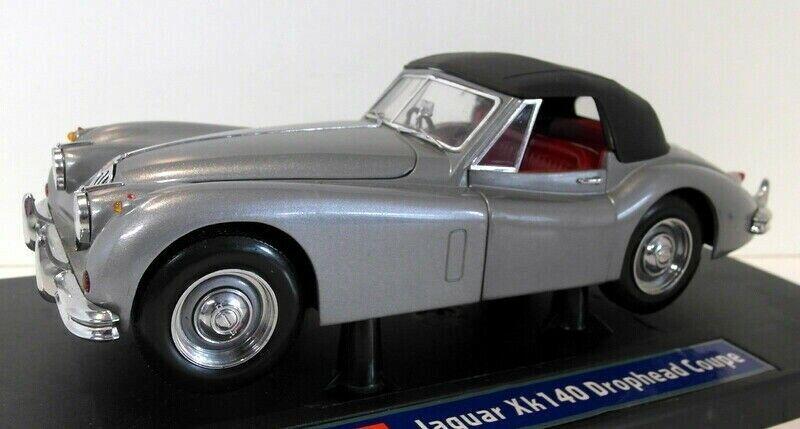 JAGUAR XK 140 DROPHEAD COUPE grigio MET 1 18 die-cast modello SUNestrella 3201, neu&ovp