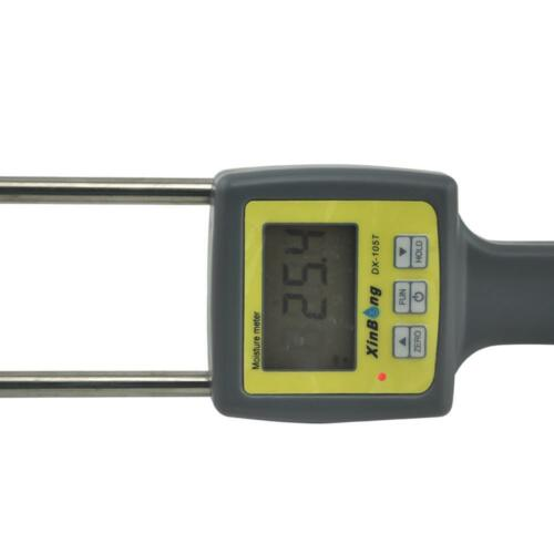 DX-105T 4 digital professional tobacco moisture meter humidity tester 8/%-40/%