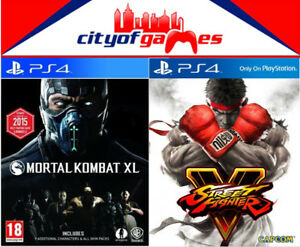 Mortal-Kombat-XL-amp-Street-Fighter-5-Bundle-PS4-New-amp-Sealed