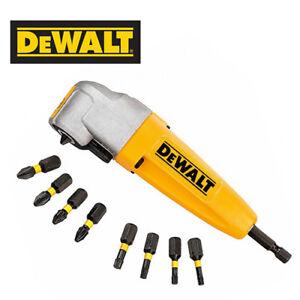 DeWalt DT71517T-QZ 9 Pcs Right Angle Torsion Drill Attachment Set with Free Tape 8M