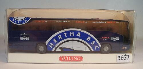 Wiking 1//87 714 13 46 MB O 404 RHD Hertha BSC Fussball Otelo OVP #2637