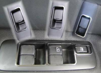 D BMW E90 E91 Chrom Rahmen für Schalter Fensterheber Edelstahl poliert 5 Teile