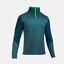 New-Mens-Under-Armour-Muscle-ColdGear-Heatgear-Grid-1-2-Zip-Top-Jacket thumbnail 5