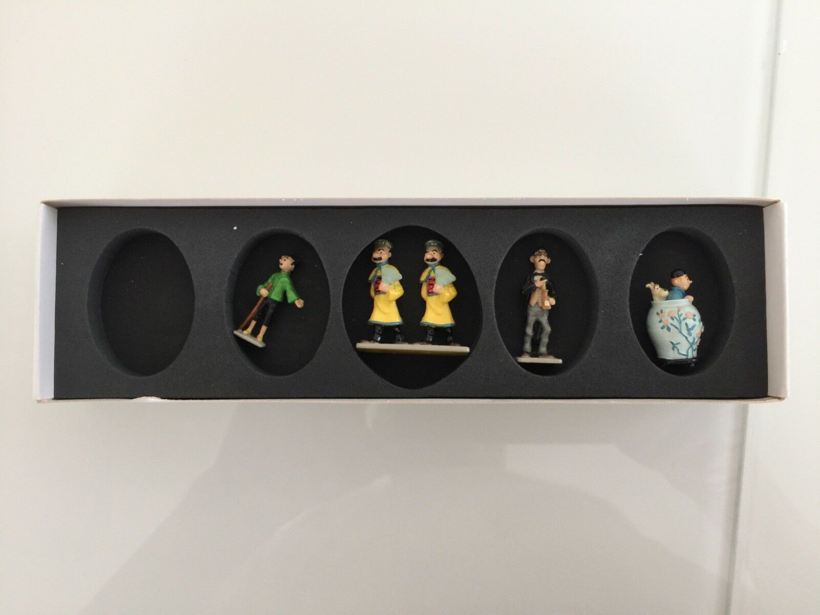 Pixi tintin mini -   le lotus bleu  - 6 figures-rare pieces  prix bas 40%