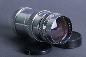 JUPITER-11-Soviet-Silver-Lens-4-135mm-M39-L39-mount-for-SLR-Zenit-camera