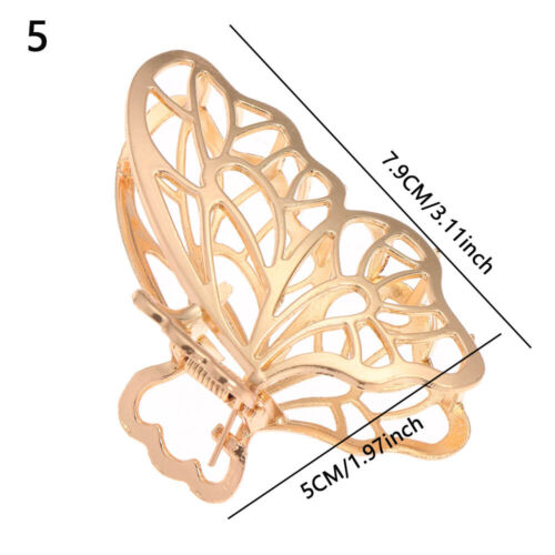 Accessories Butterfly Tassel Metal Hairgrip Hollow Out Barrettes Hair Claws