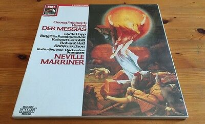 SEALED HANDEL Messiah MARRINER 3 LP Box EMI Digital 40 634 *