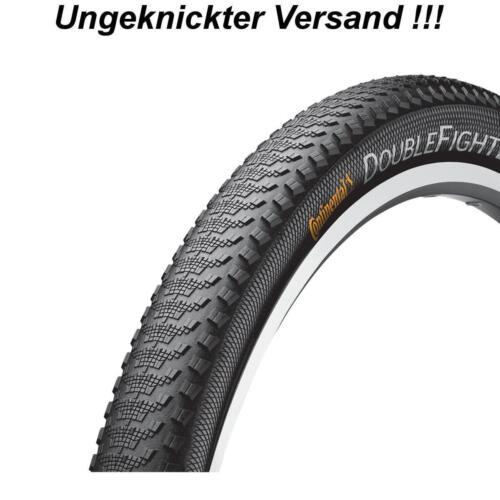 """Continental MTB Race Fahrrad Reifen Mantel Double Fighter III 26/"""" 27.5/"""" 29/"""" schw"""