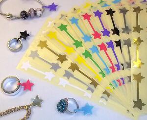 Star Shaped Jewellery Price Stickers