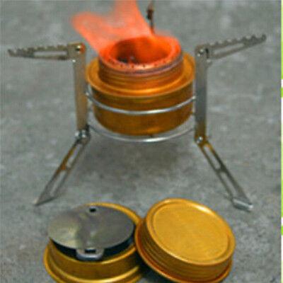 Alcohol Burner Stove Stand Rack Bracket Support Camp Picnic Cooking kit Protable