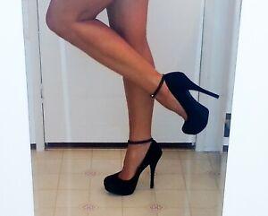 Black-Crystal-Anklets-Pair-Shoe-Jewelry-Ankle-Strap-Ankle-Bracelet-Anklet-Pair