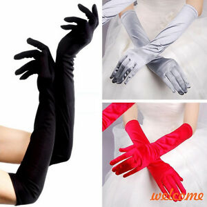 Women long arm finger elbow opera gloves party wedding jpg 300x300 Tight dresses  satin gloves 0e2ee1747