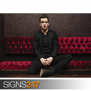 BRENDON-URIE-PANIC-AT-THE-DISCO-SITTING-1155-Poster-Print-Art-A0-A1-A2-A3-A4