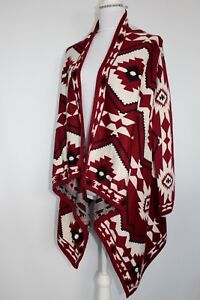 Divided-by-H-amp-M-Open-Cardigan-Aztec-Sweater-Size-S