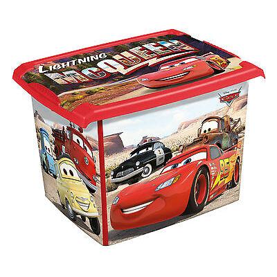 Spielzeugkiste Spielzeugbox Fashion Box Disney Cars 20L Aufbewahrungsbox