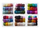 Heidifeathers Felting Wool - 300g Merino Wool Tops / Roving - Wool Mix Packs